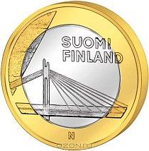 Монета номиналом 5 евро