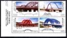 Почтовые марки Южная Корея. Мосты