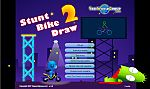 Stunt Bike Draw 2 (Построй подмости для трюка. Версия 2)