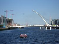 Мост Сэмюэла Беккета Samuel Beckett Bridge (Фото http://commons.wikimedia.org/wiki/File:Samuel_Beckett_in_place_incomplete.JPG)